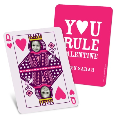 Unique Valentine's Day Cards -- Queen of Hearts