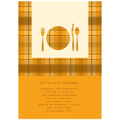 Host a Thanksgiving party to support your local food shelf #thanksgiving #partyideas #peartreegreetings
