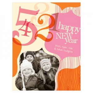 It's never too late to send a Happy New Years card! #peartreegreetings #newyear #newyearscards