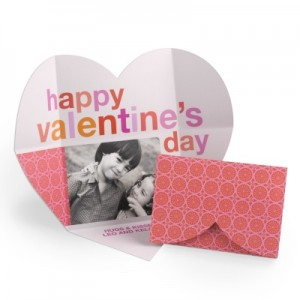 Happy Valentine's Day Card -- With All Your Heart