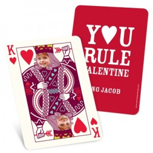 Photo Valentines Cards -- Ruling King Kids