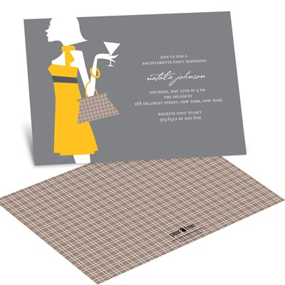 Party Invitation -- Chic Style