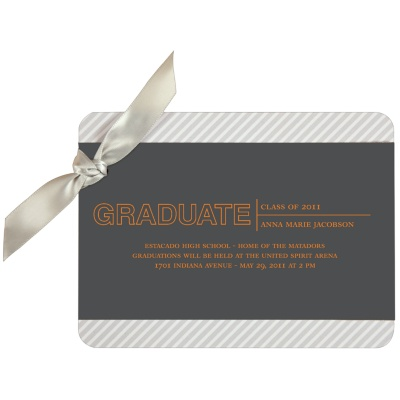 Graduation Announcement -- Elegant Angles