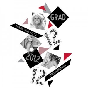 Graduation Confetti -- Geometric Bliss