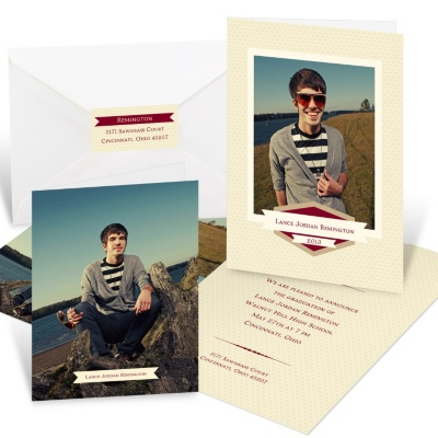 Graduation Party Invitation Ensemble -- Senior Snapshots
