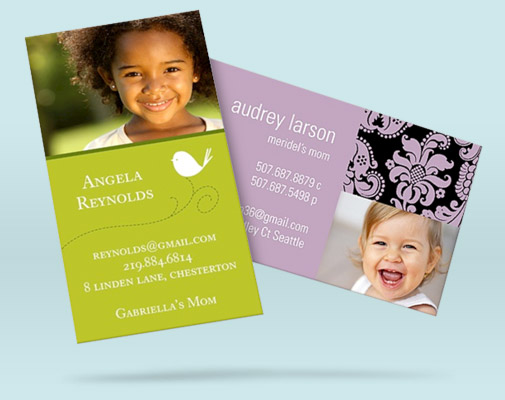 Mommy cards are perfect for introducing yourself during the summer months #peartreegreetings #mommycards