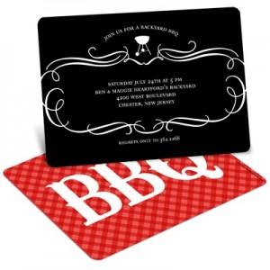BBQ party invite