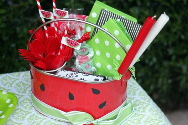 Winning watermelon party theme pear tree