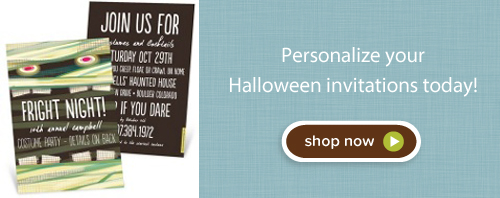 Shop Halloween invitations today!
