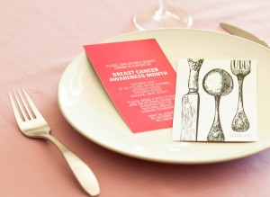 Breast Cancer Awareness charity dinner