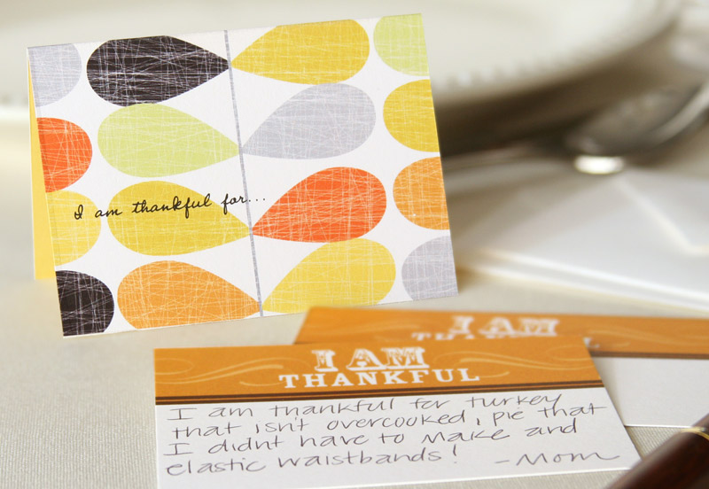 Thanksgiving Traditions: What are you thankful for? #thanksgiving #peartreegreetings #thankful