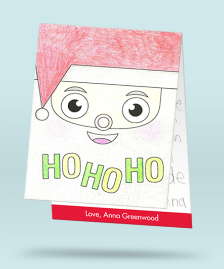 Kids thank you card ideas after the holidays #peartreegreetings #thankyou #gifts