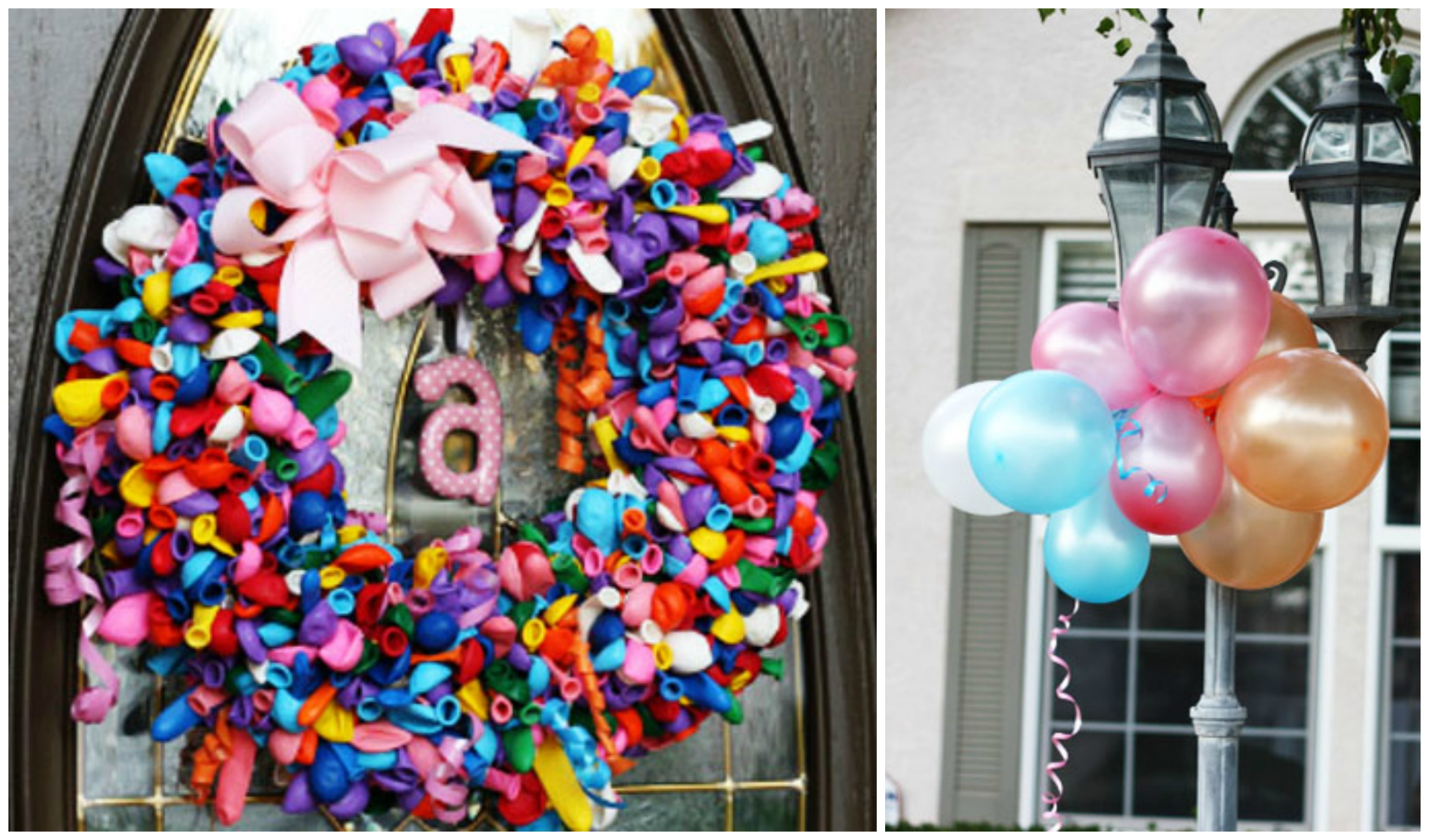 balloon birthday party theme pear tree blog