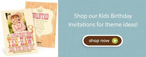 Shop kids birthday invitations today!