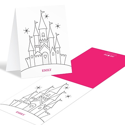 Thank you card ideas for kids #coloringcards #peartreegreetings #thankyoucards