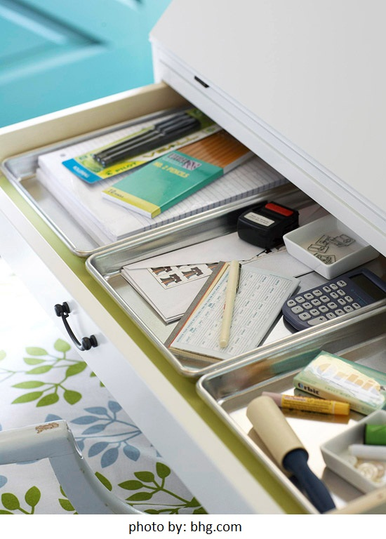 Organizing ideas that control the paper clutter