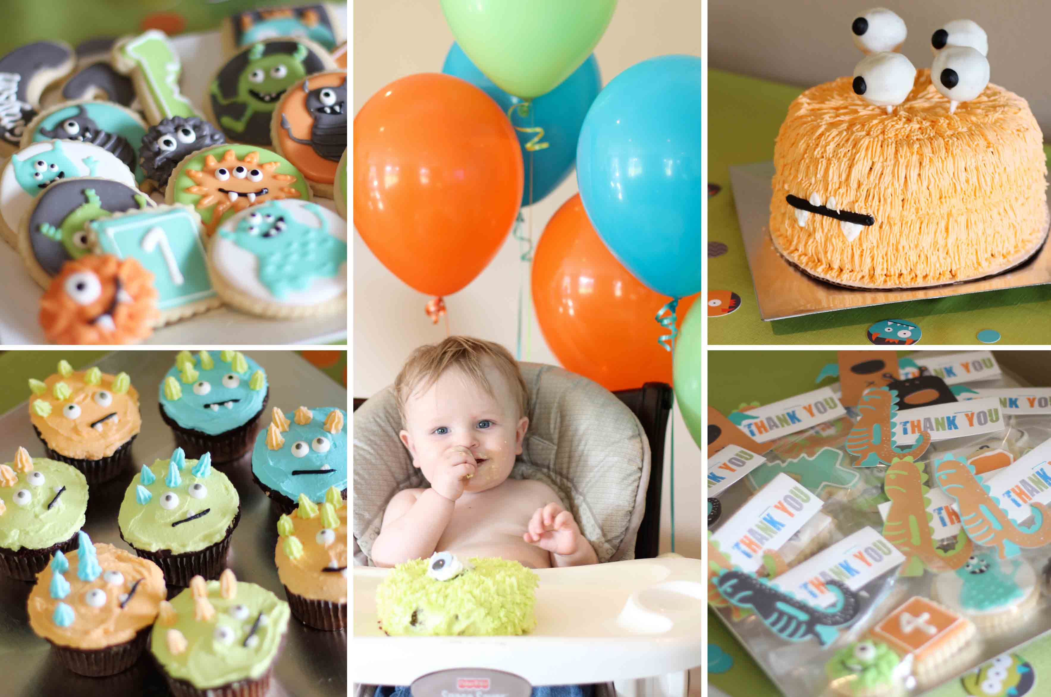 Kid's Monster Birthday Party