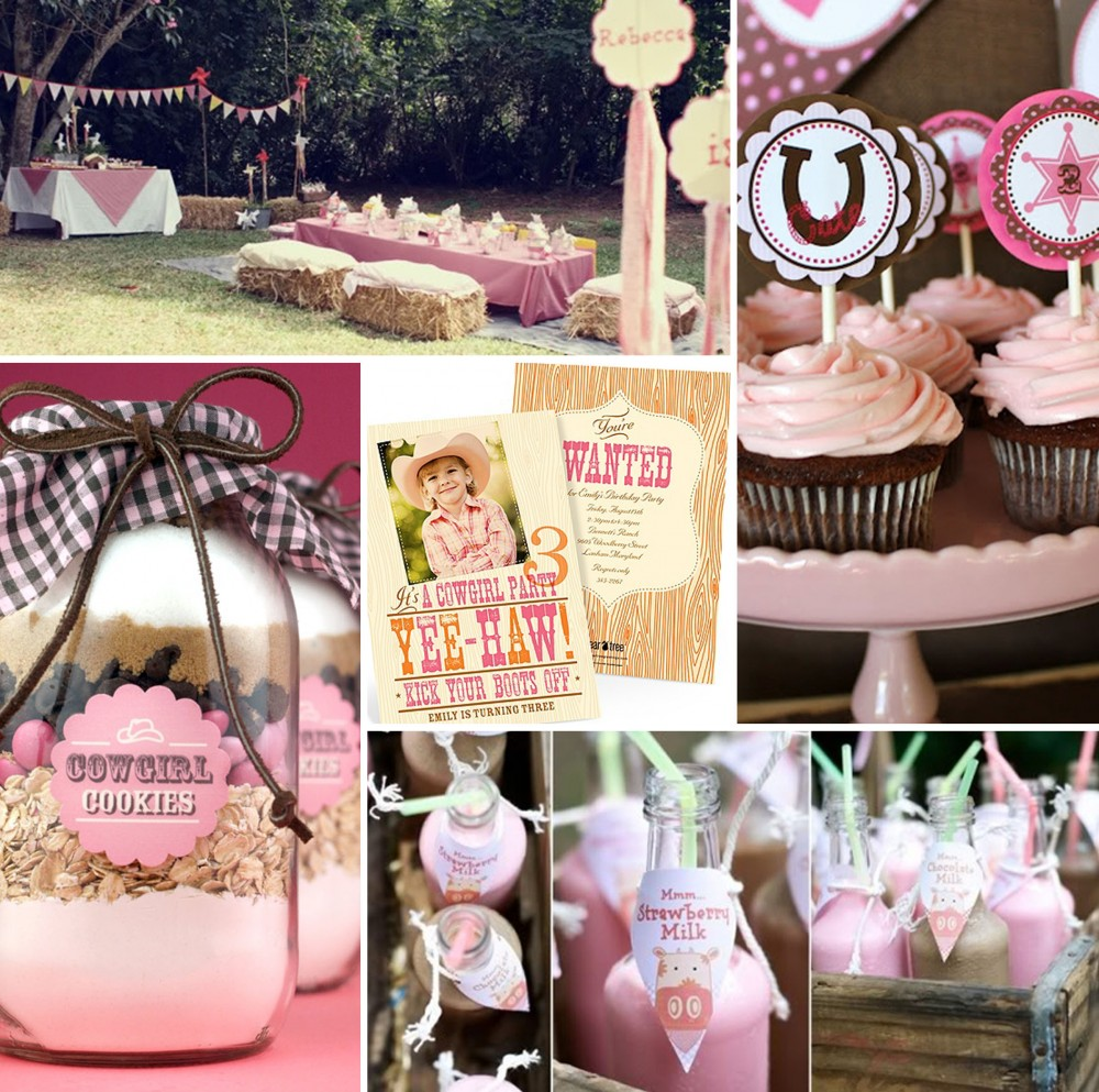 Western Birthday Party Ideas #cowgirl #peartreegreetings #western #birthday