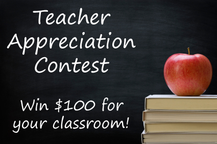 Teacher Appreciation Contest