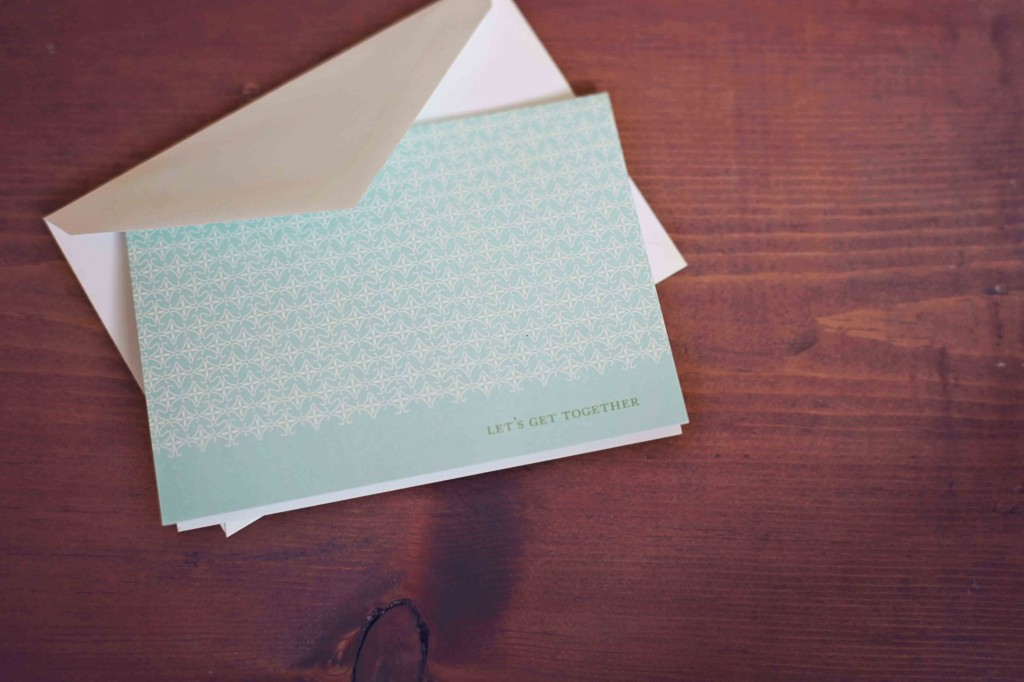 Thank you cards and personalized stationery