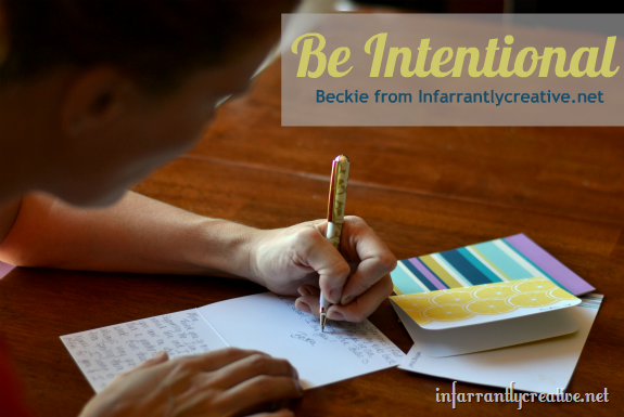 be_intentional