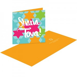 Repeating Star of David - Rosh Hashanah Cards
