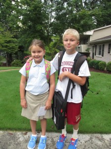 Laney 3rd grade Parker 6th grade