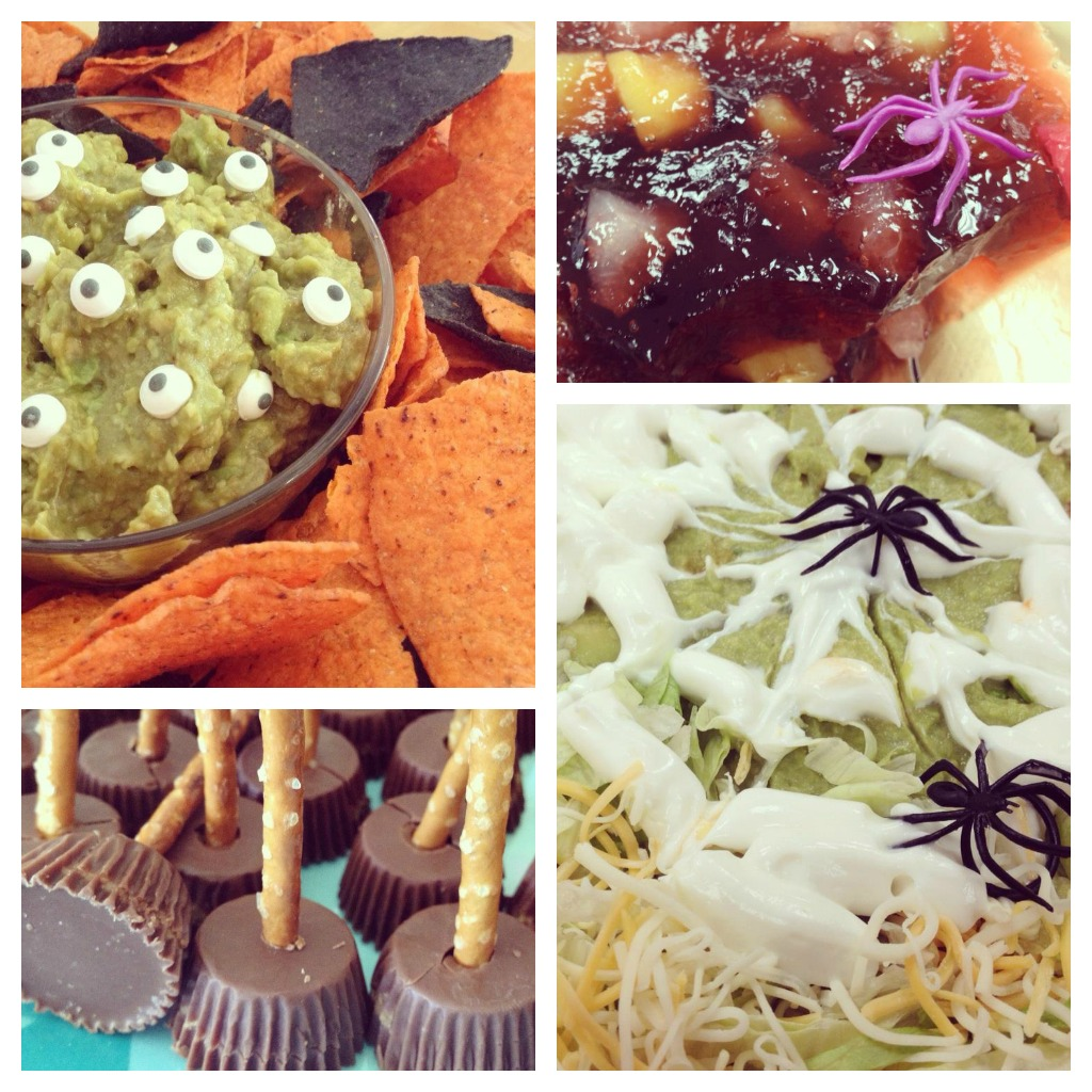 Spooky and fun Halloween food ideas from #peartreegreetings! #Halloween #Halloweenfoodideas