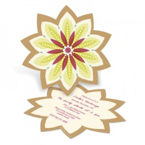 Christmas Cookie Exchange Party Invitations -- Sweet Starburst