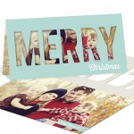 Photo Christmas Cards -- Peekaboo Christmas