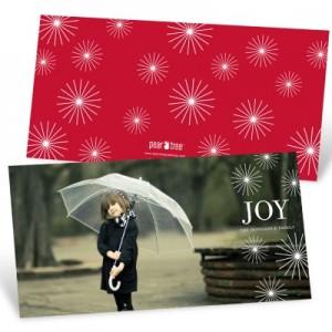Radiant Christmas Stars Christmas Cards