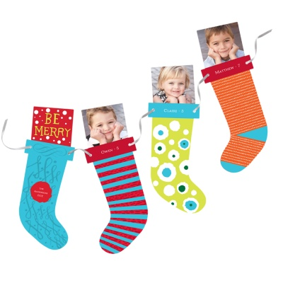 Photo Christmas Cards -- Stocking Stuffers