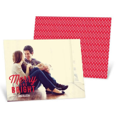 Photo Christmas Cards - Favorite Carols Horizontal Photo