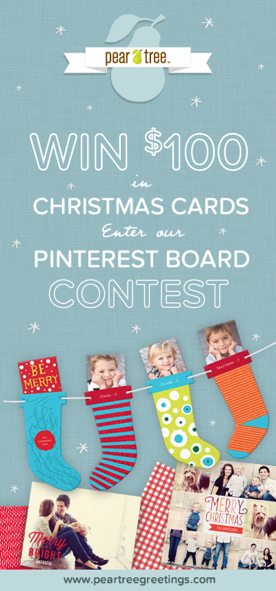 Christmas cards Pinterest Contest