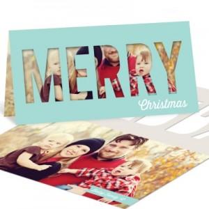 Photo Christmas Cards -- Peekaboo Christmas