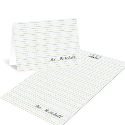 Teacher Note Cards -- Stay in the Lines
