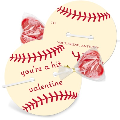 Kids Valentine Cards -- It's a Homerun