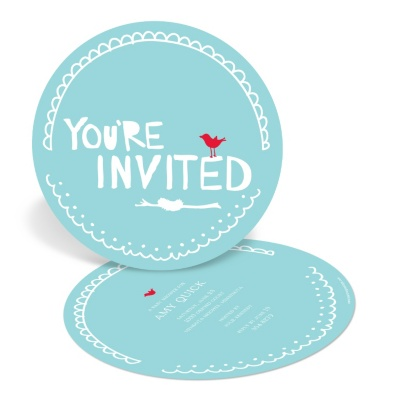 Unique Baby Shower Invitations -- Nesting for Newborn's Arrival