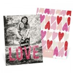 Valentine's Day Photo Cards -- Glowing Love Vertical Photo