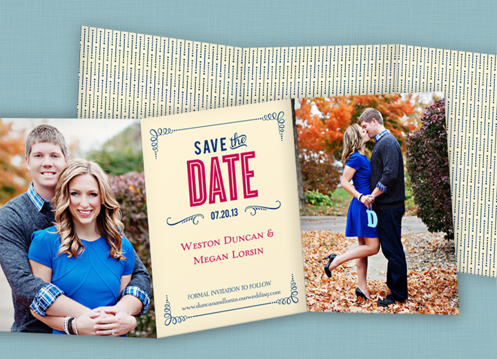 Save the Date Cards -- Happily Ever Headlines