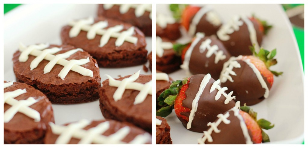football shaped food ideas