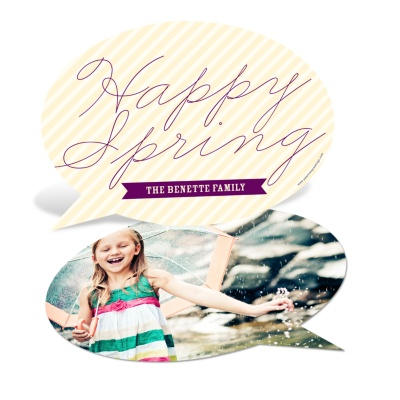 Happy Spring Cards -- Talking Spring
