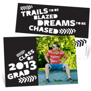 Graduation Announcements -- Trail Blazer