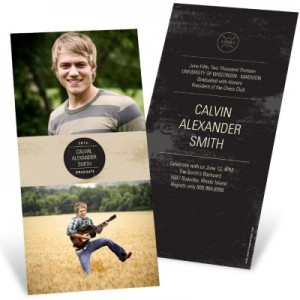 Graduation Announcements -- Rustic Celebrations