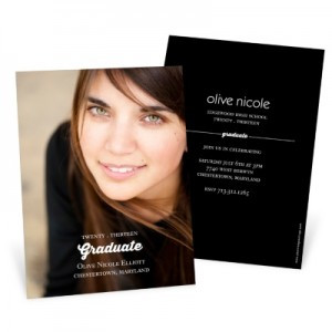 Graduation Announcements & Invitations -- Perfect Photo