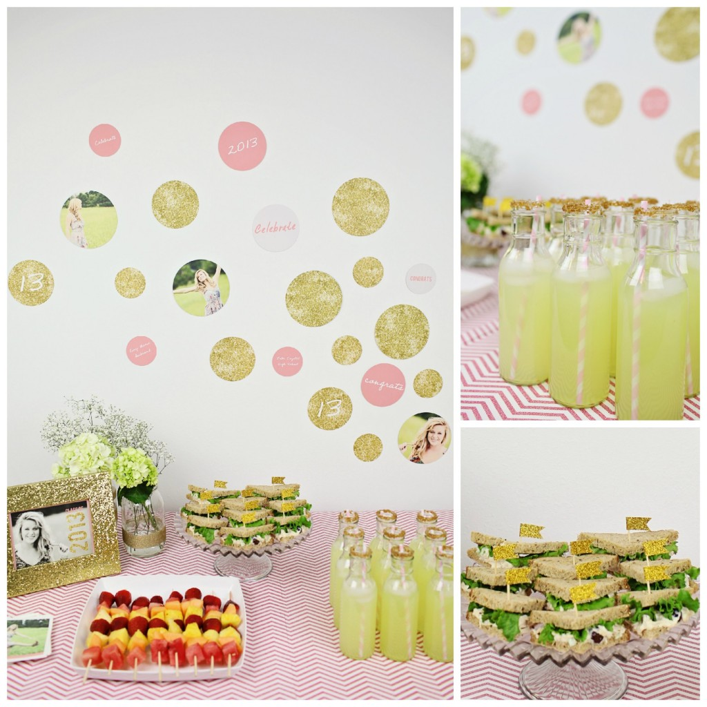 Graduation Party Ideas: Glam Graduation Party Ideas