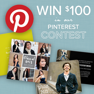 Graduation Pinterest Contest