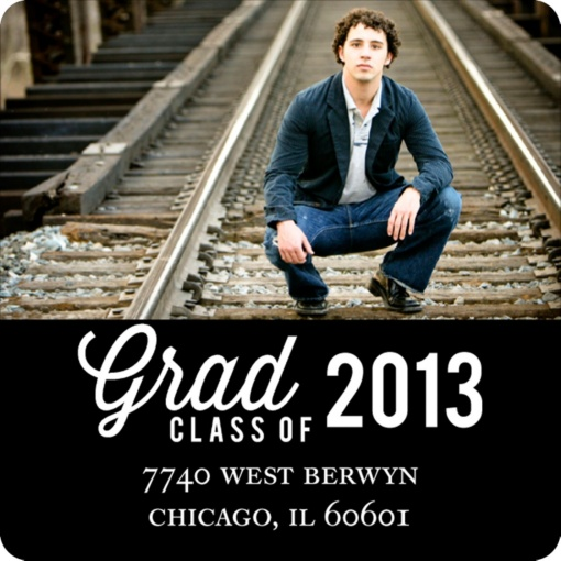 Graduation Address Labels -- Favorite Photo