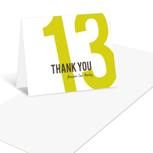 Graduation Thank You Cards -- What Year Is It