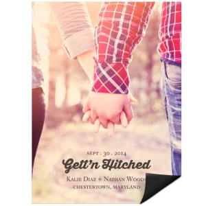 Save the Date Magnets -- Gett'n Hitched Photo